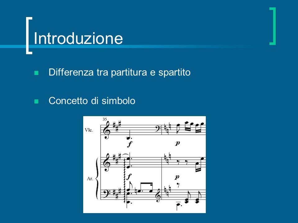 Dalla codifica digitale alla… (2/2) …esecuzione automatica Sintesi e programmazione timbrica Modelli interpretativi …visualizzazione evoluta Sincronizzazione audio/video …conversione di formato