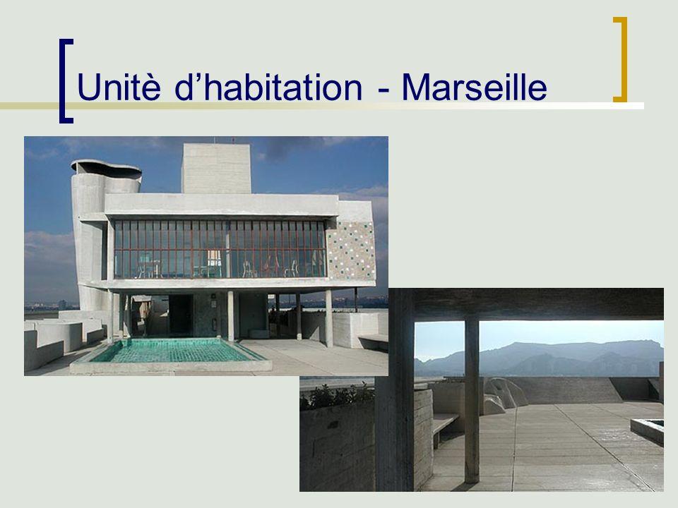 41 Unitè dhabitation - Marseille