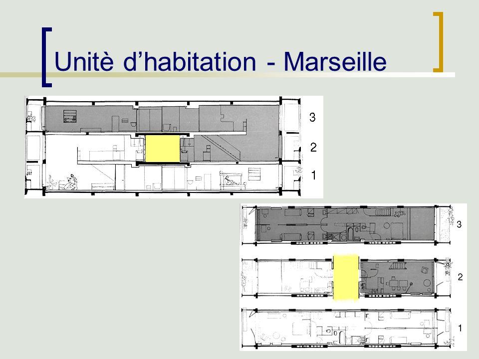 42 Unitè dhabitation - Marseille