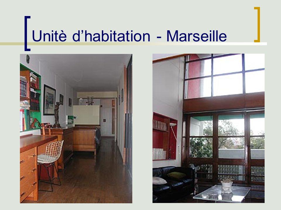 43 Unitè dhabitation - Marseille