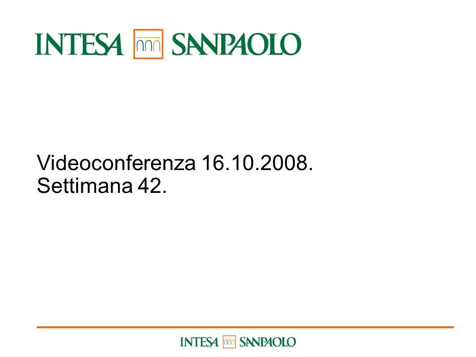 1 Videoconferenza 16.10.2008. Settimana 42.