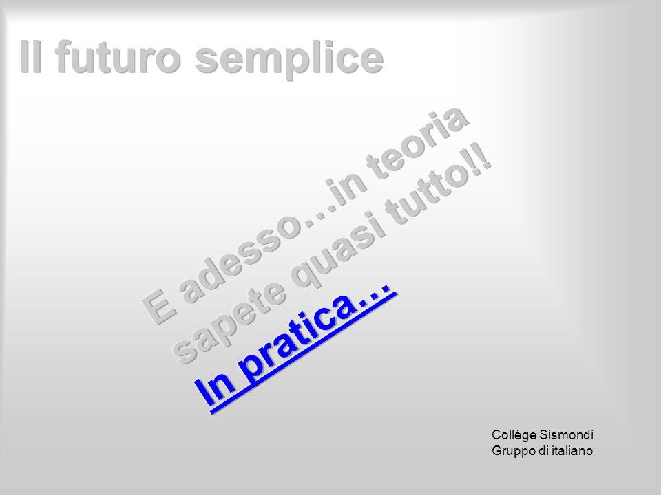 Collège Sismondi Gruppo di italiano