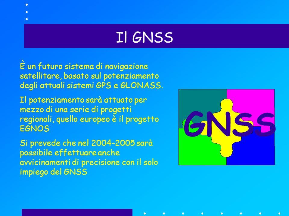 Il GNSS È un futuro sistema di navigazione satellitare, basato sul potenziamento degli attuali sistemi GPS e GLONASS.