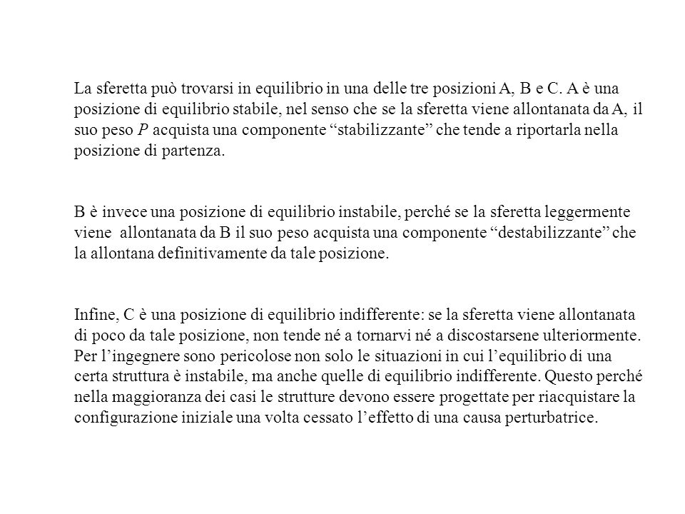 Aste compresse con altre condizioni di vincolo Il risultato ottenuto con riferimento allasta cerniera-carrello è estensibile anche ad aste compresse con altre condizioni di vincolo.