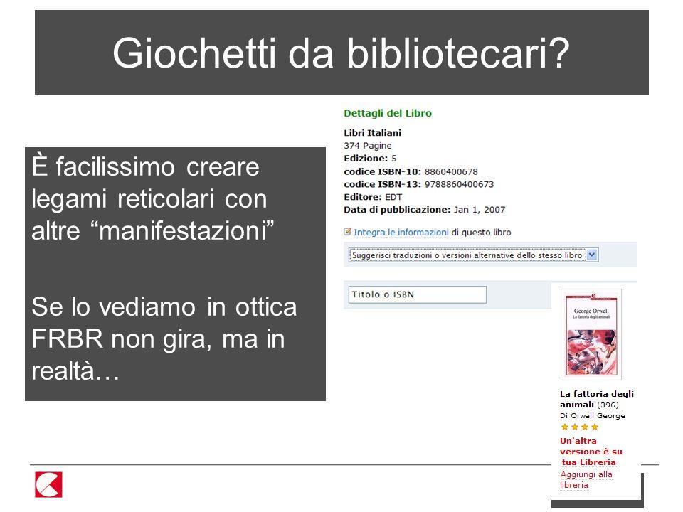 33 / 86 Giochetti da bibliotecari.