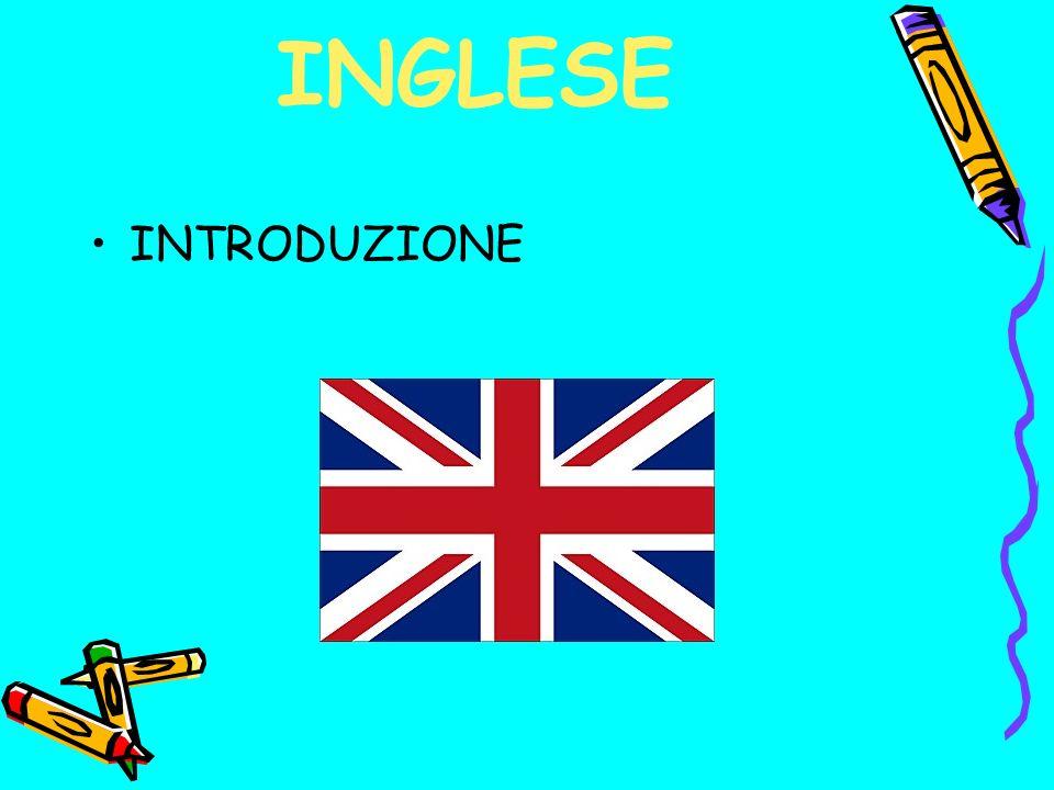 INGLESE INTRODUZIONE