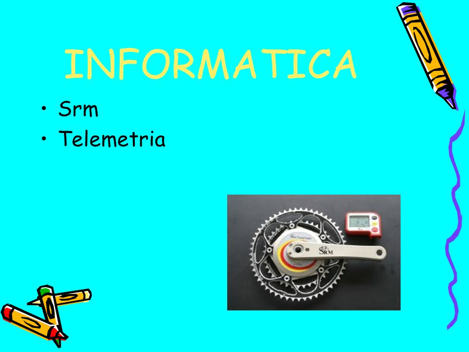 INFORMATICA Srm Telemetria