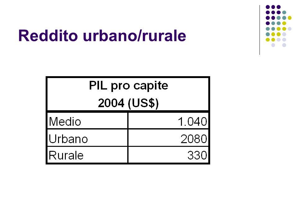 Reddito urbano/rurale