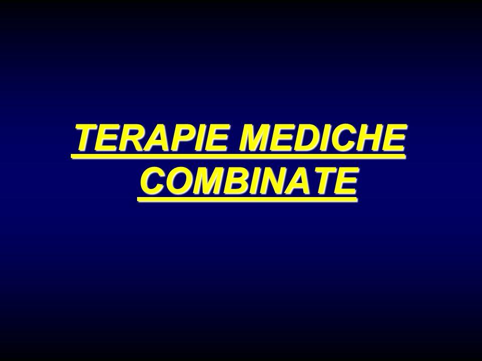 TERAPIE MEDICHE COMBINATE