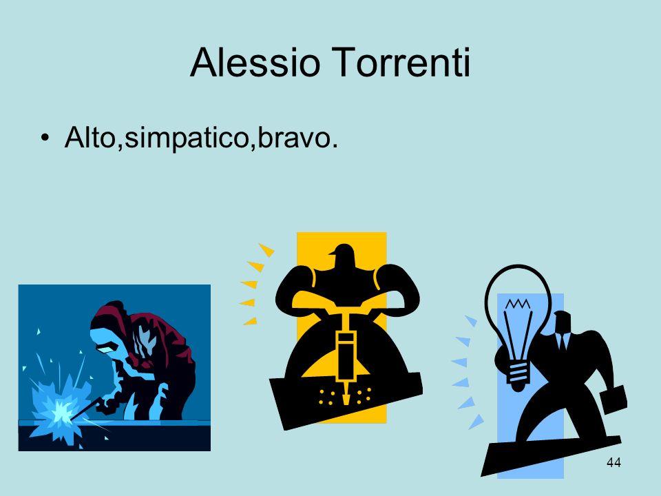 44 Alessio Torrenti Alto,simpatico,bravo.