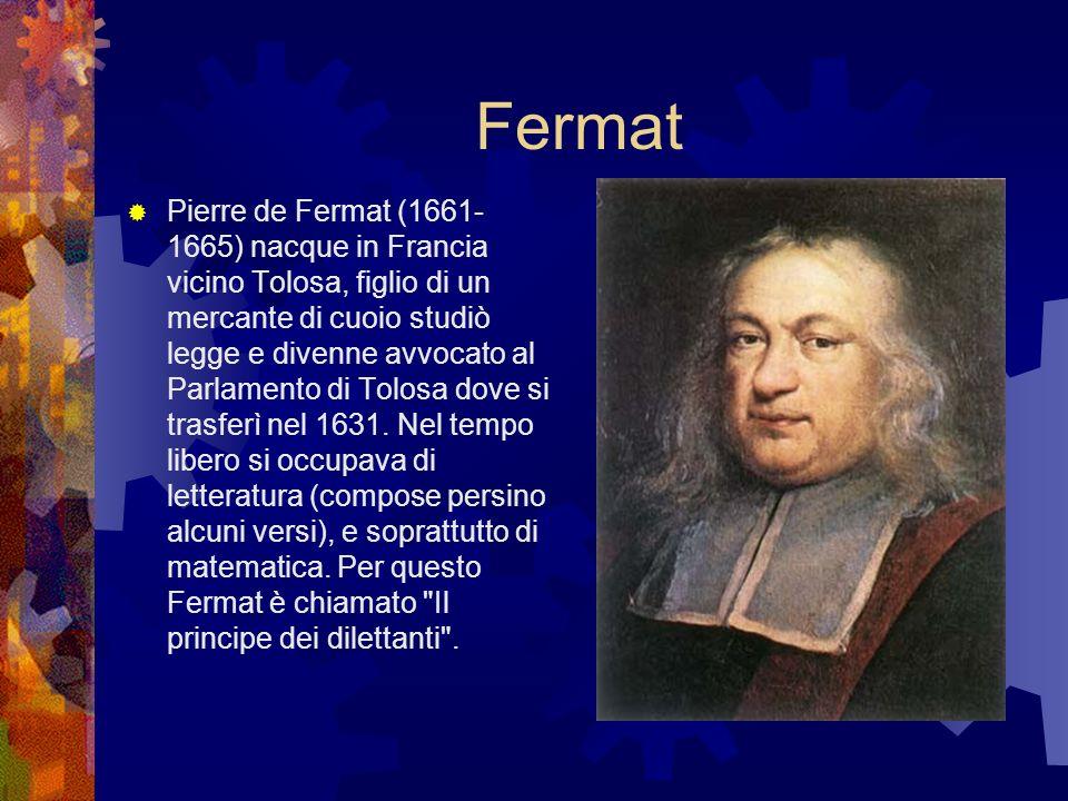 Lopera Giunse in maniera indipendente da Cartesio a formulare i concetti base della geometria analitica.