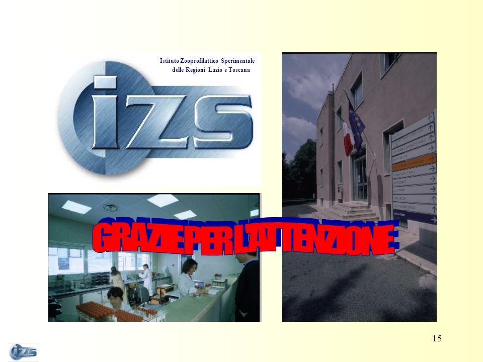 Istituto Zooprofilattico Sperimentale delle Regioni Lazio e Toscana 15