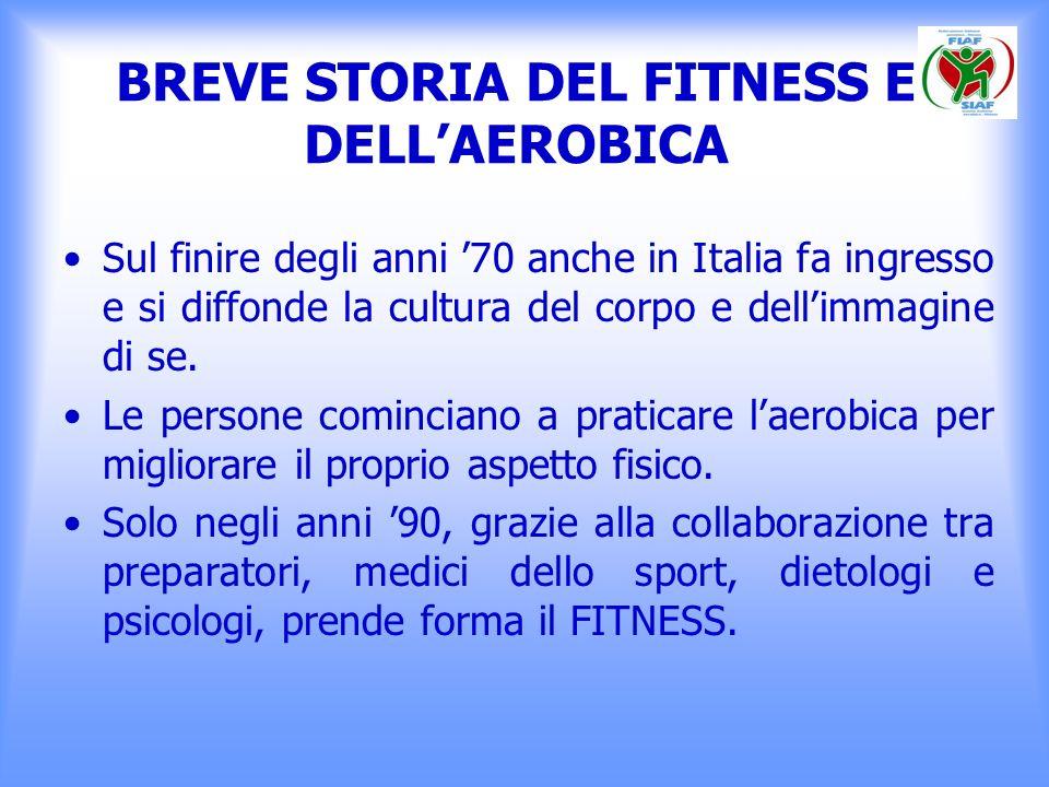 DEFINIZIONE DI FITNESS Il Fitness è uno stile di vita caratterizzato da attitudini e comportamenti finalizzati al miglioramento della propria salute e del benessere psicofisico.