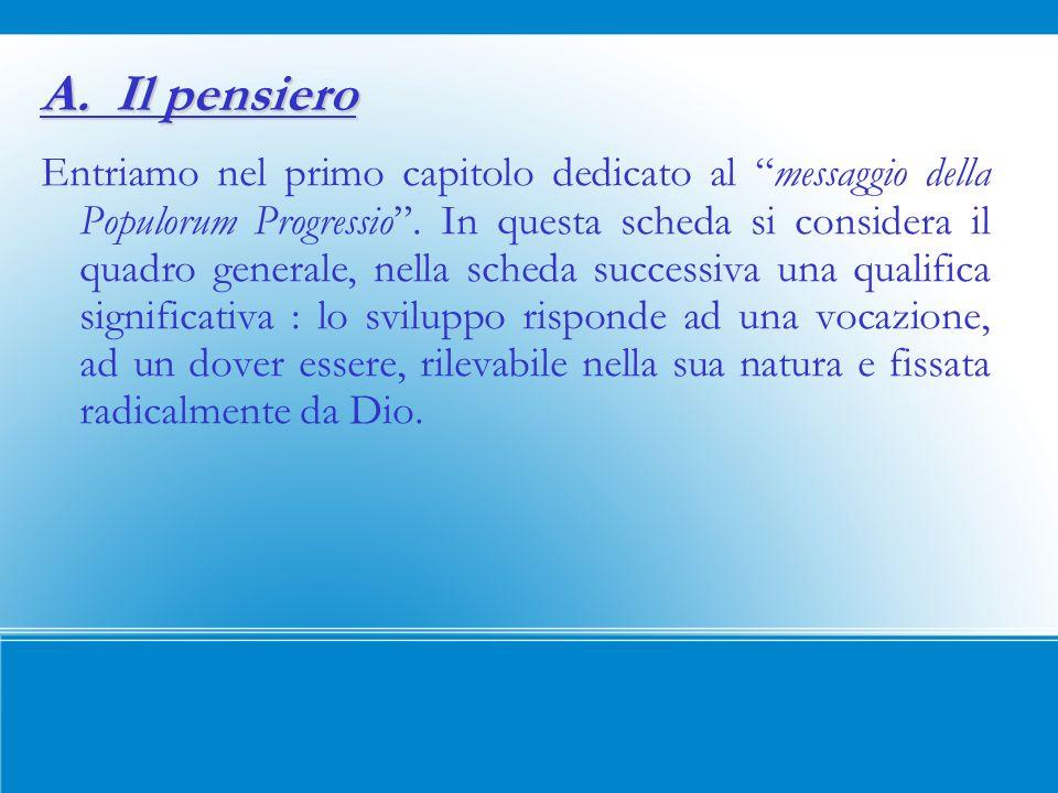 1.Benedetto XVI si riconduce sistematicamente alla PP per celebrarne i 40 anni (1967) e soprattutto mettere in luce il suo contributo sempre valido.