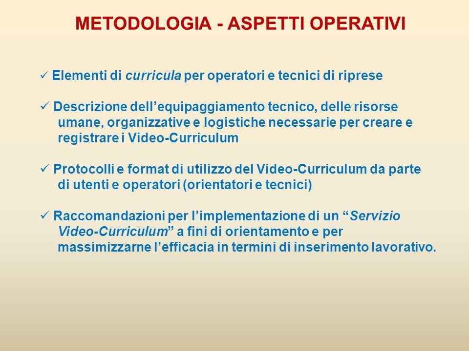 DVD CON ESEMPI DI VIDEO-CV Allinterno del volumetto troverete, in fine, un DVD contenente alcuni esempi di Video-CV.