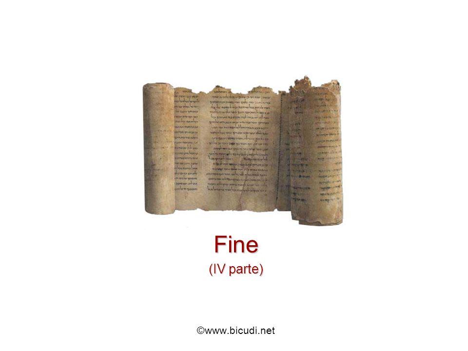 Fine (IV parte) ©www.bicudi.net