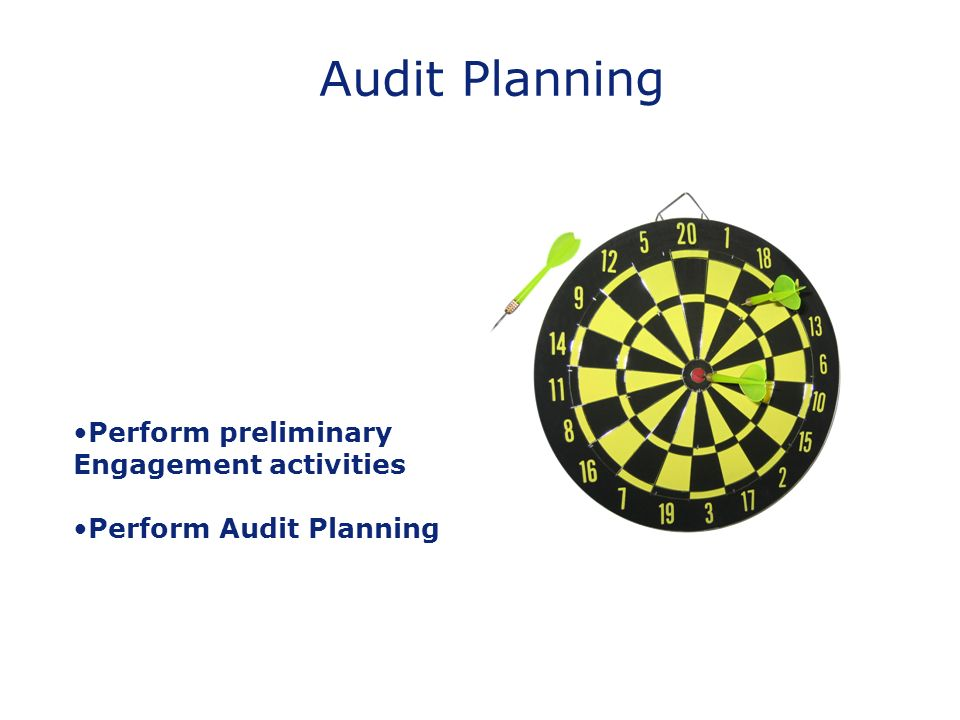 Audit Planning Perform preliminary Engagement activities Perform Audit Planning