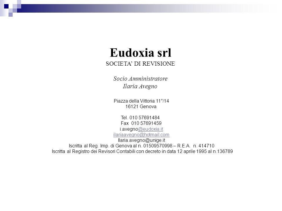 Piazza della Vittoria 11°/14 16121 Genova Tel. 010 57691484 Fax 010 57691459 i.avegno@eudoxia.it@eudoxia.it ilariaavegno@hotmail.com Ilaria.avegno@uni