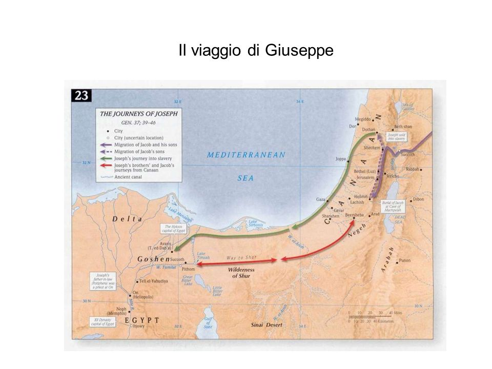 Il viaggio di Giuseppe