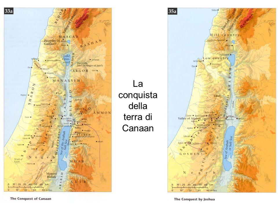 La conquista della terra di Canaan
