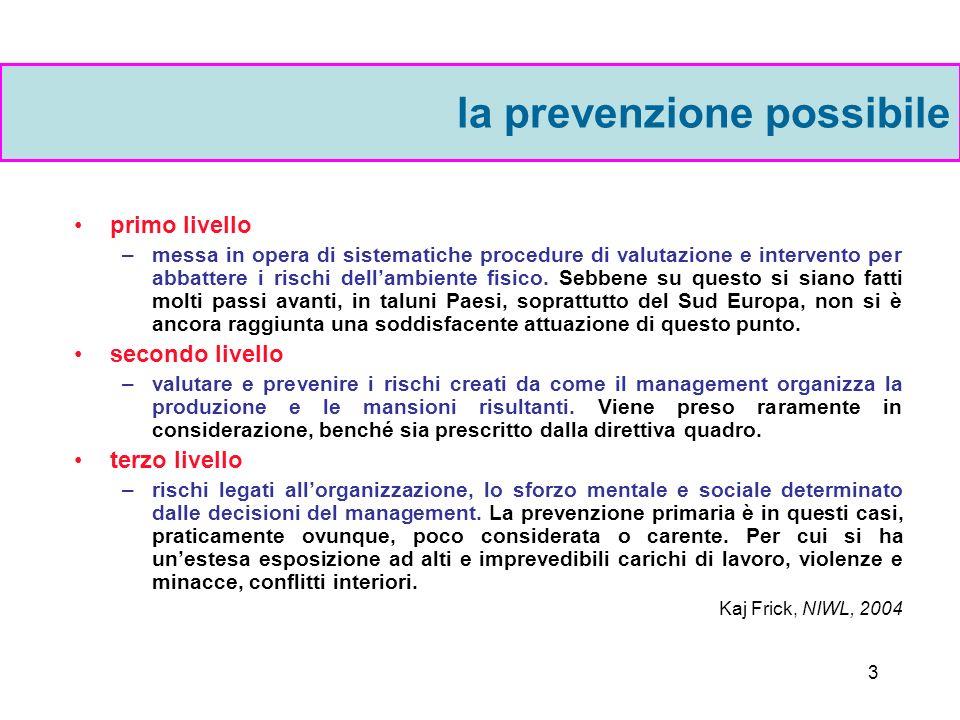 2 Fino ai primi anni 80 Chiara divisione tra il mondo degli esperti del rischio e quello delle persone comuni.