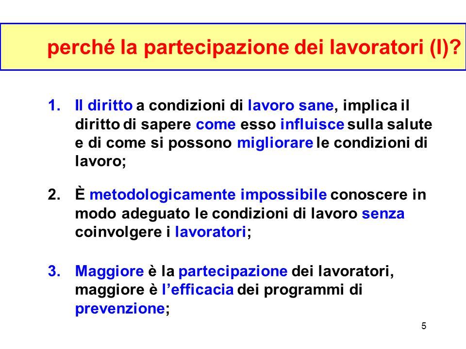 4 la prevenzione efficace: scala dimpatto I.Cambiamenti nella formazione degli attori II.Cambiamenti nel comportamento degli attori III.Cambiamenti ne