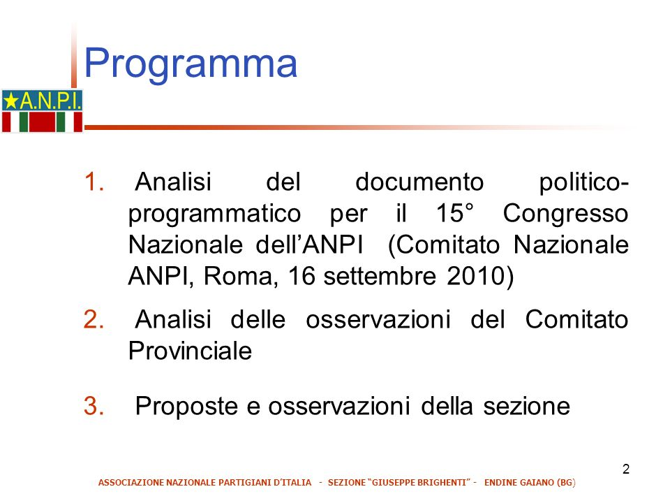 2 Programma 1.