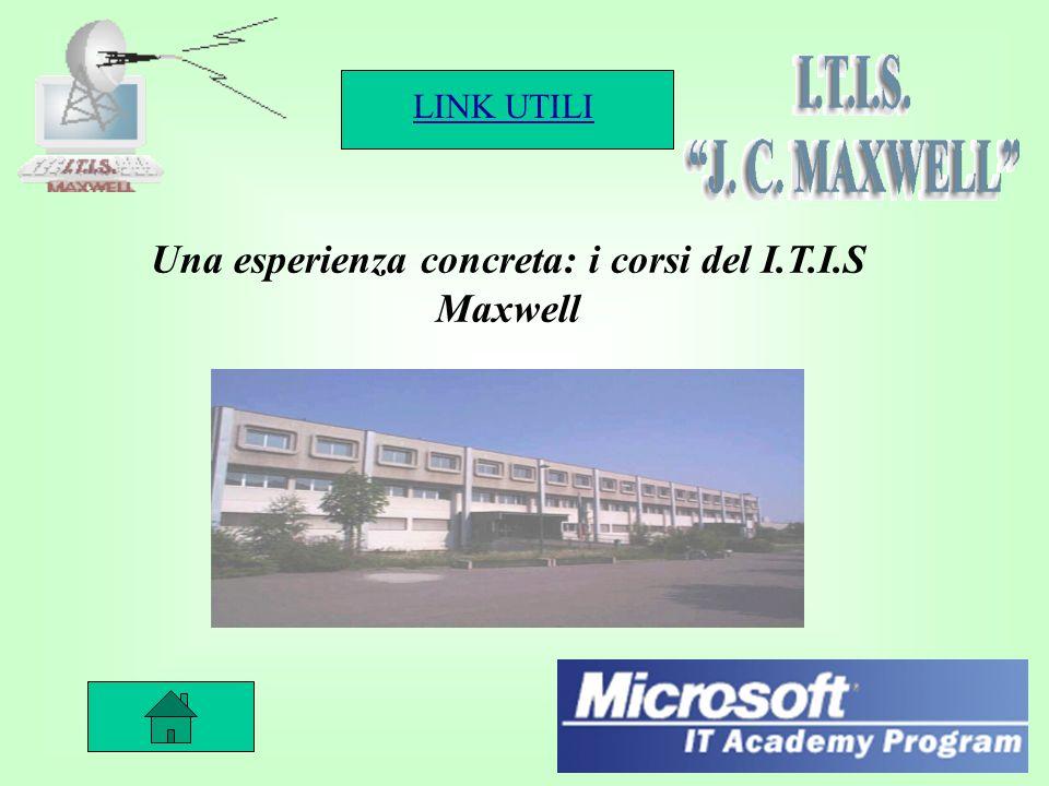 LINK UTILI 20 Una esperienza concreta: i corsi del I.T.I.S Maxwell