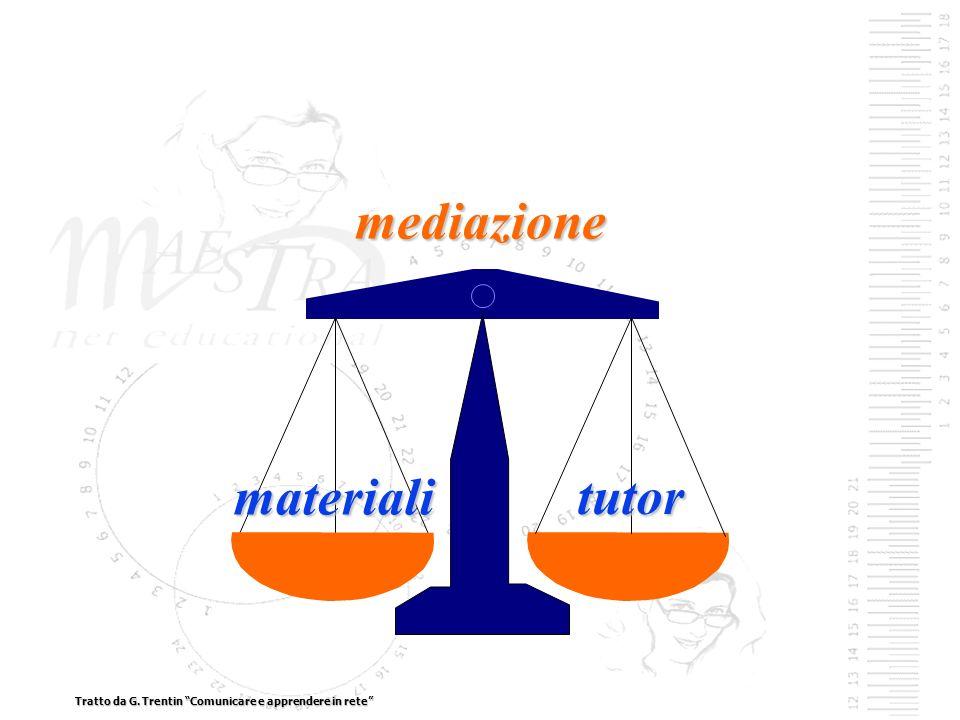 mediazione materiali tutor