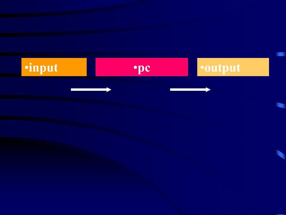 inputpcoutput
