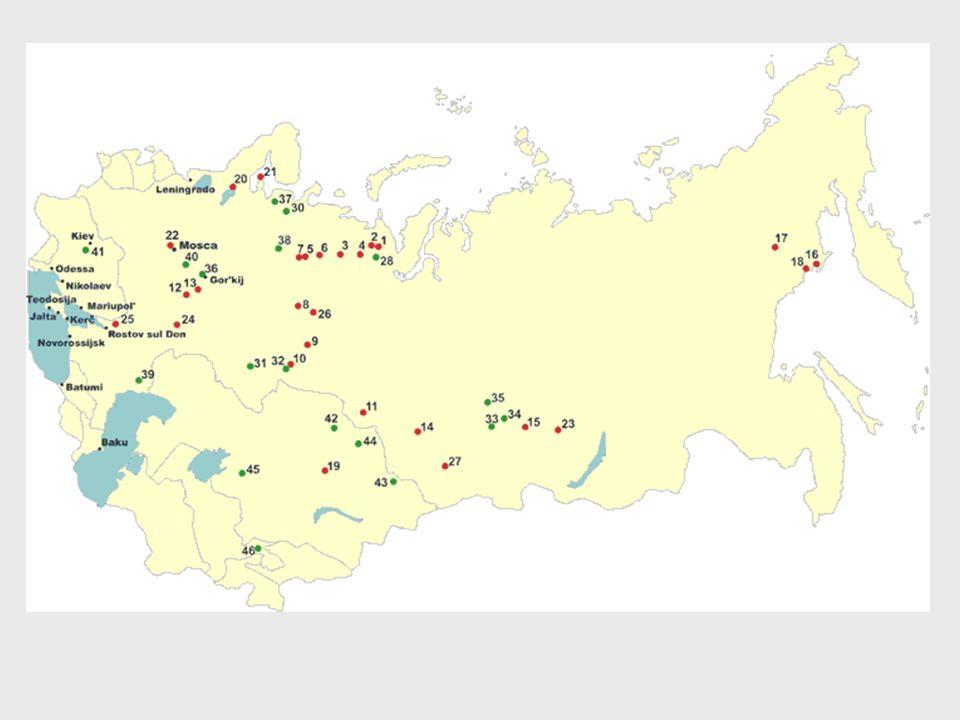 Molti dei loro corpi giacciono nelle fosse comuni di Butovo o della Kommunarka, due luoghi nei pressi di Mosca tristemente noti dopo il 2000, anno della loro scoperta.
