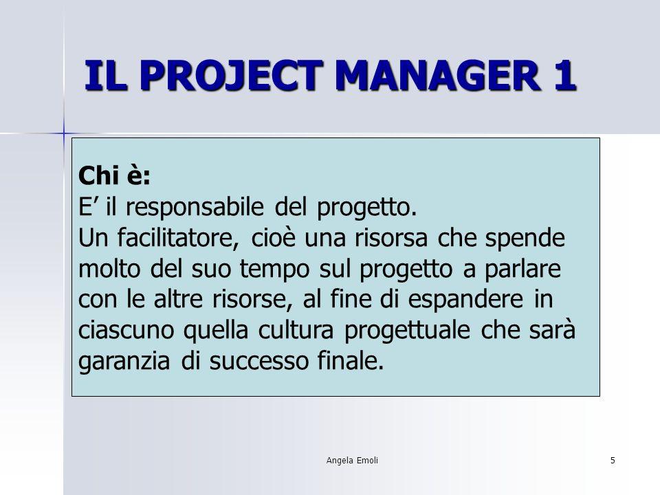 Angela Emoli4 Un processo didattico complesso dovrebbe: Coinvolgere diverse persone Utilizzare diverse risorse Collegare la scuola al mondo esterno Av