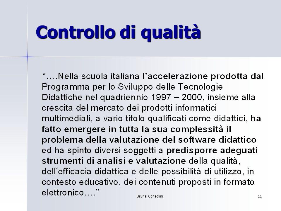 Bruna Consolini11 Controllo di qualità