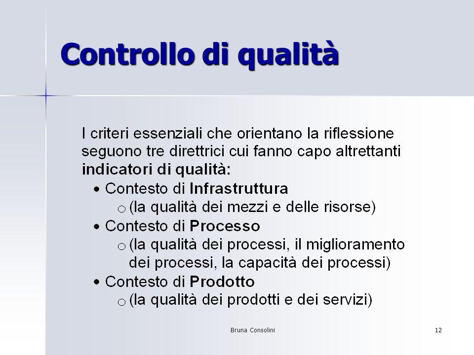 Bruna Consolini12 Controllo di qualità