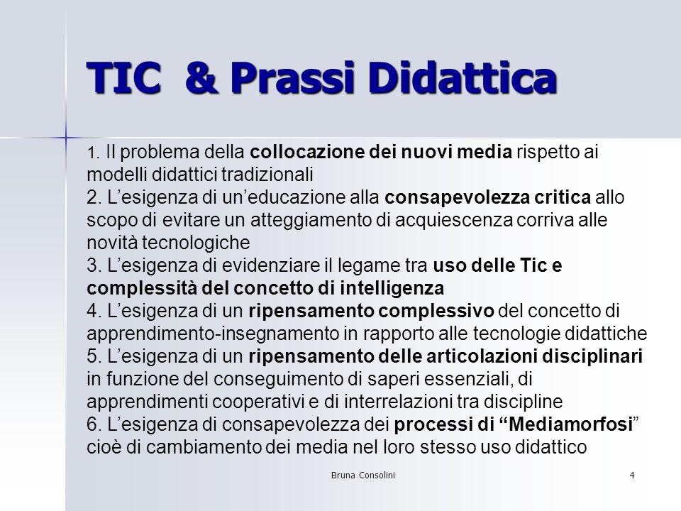 Bruna Consolini5 TIC & Innovazione Scolastica