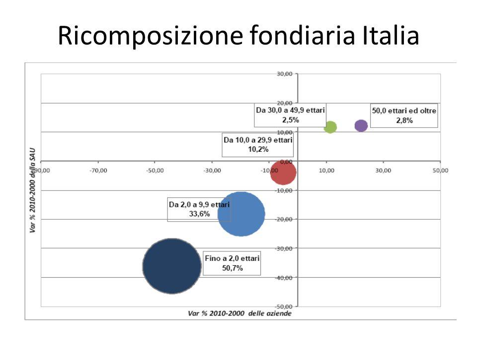 Ricomposizione fondiaria Italia