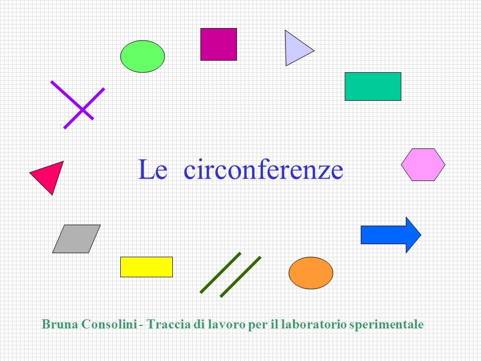 Le circonferenze Bruna Consolini - Traccia di lavoro per il laboratorio sperimentale