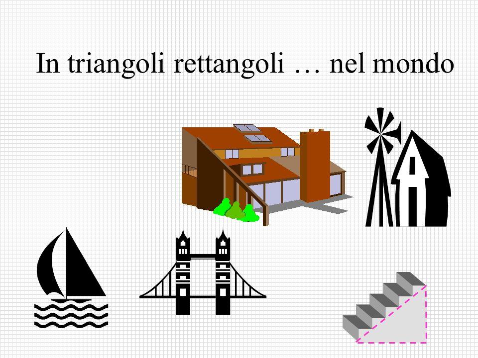 In triangoli rettangoli … nel mondo
