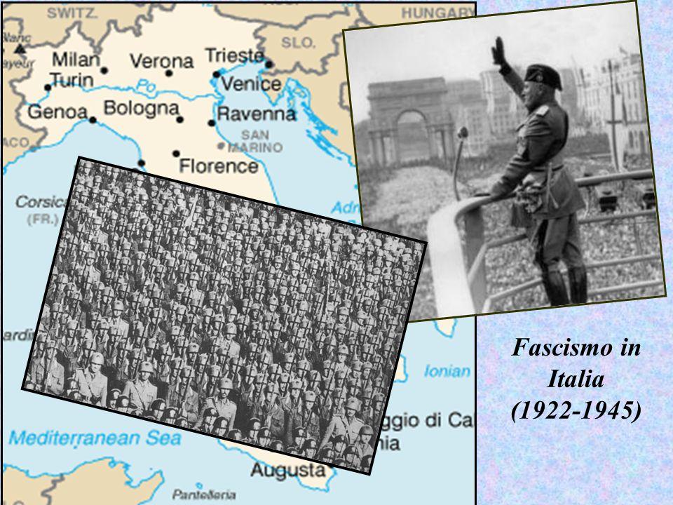 Fascismo in Italia (1922-1945)