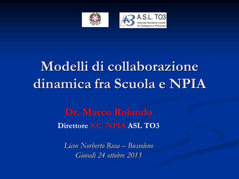 Dr.Marco Rolando Direttore S.C.