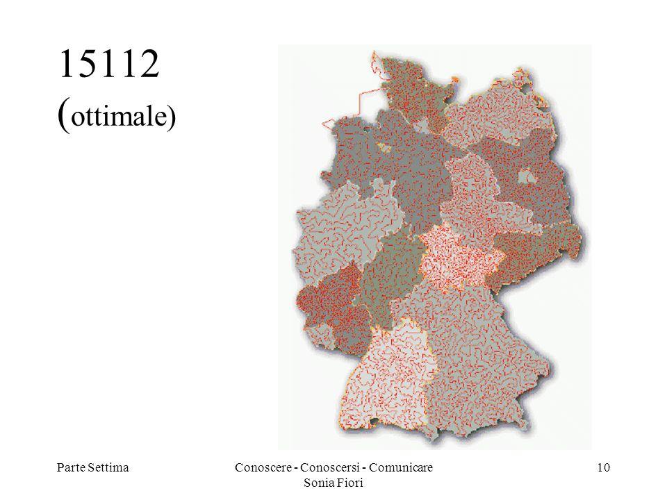 Parte SettimaConoscere - Conoscersi - Comunicare Sonia Fiori 10 15112 ( ottimale)
