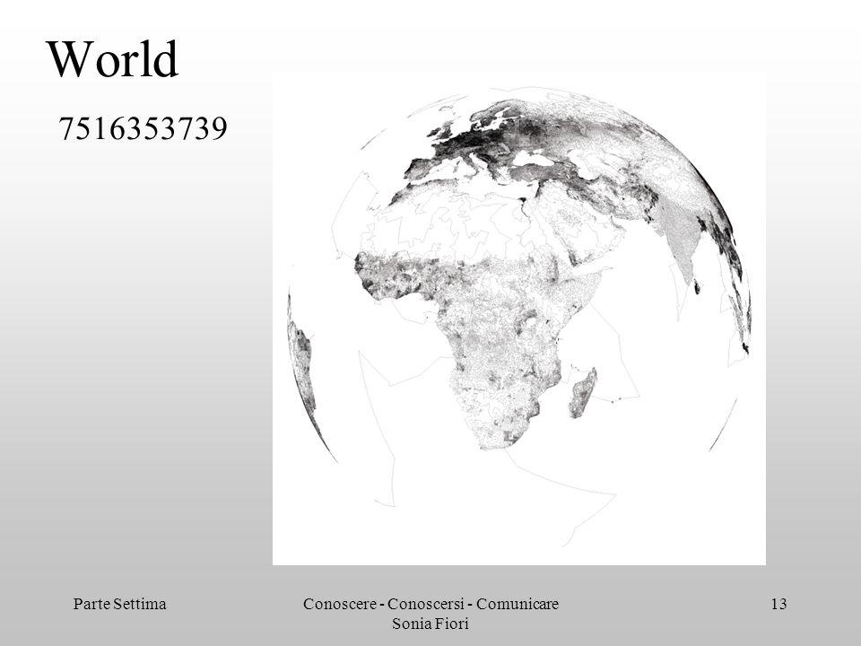 Parte SettimaConoscere - Conoscersi - Comunicare Sonia Fiori 13 World 7516353739