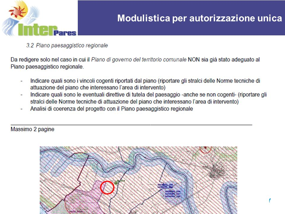 REPORT OF THE ACTIVITIES OF UPI Modulistica per autorizzazione unica 14