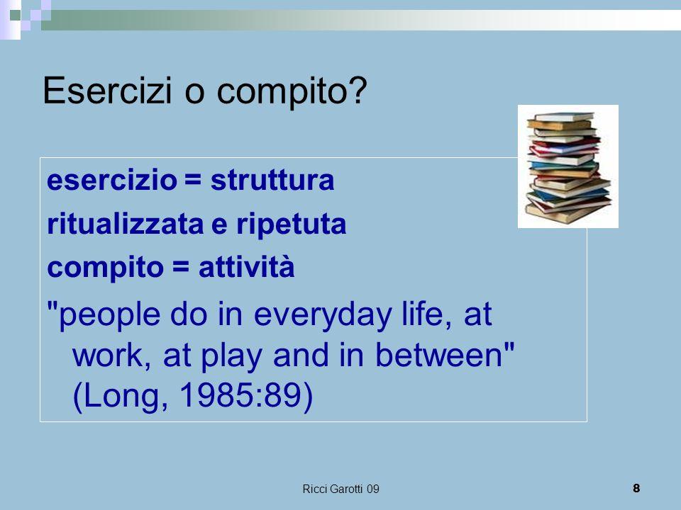 Ricci Garotti 0919 Strutture tipiche della lingua Fare forza, avere forza, possedere forza.