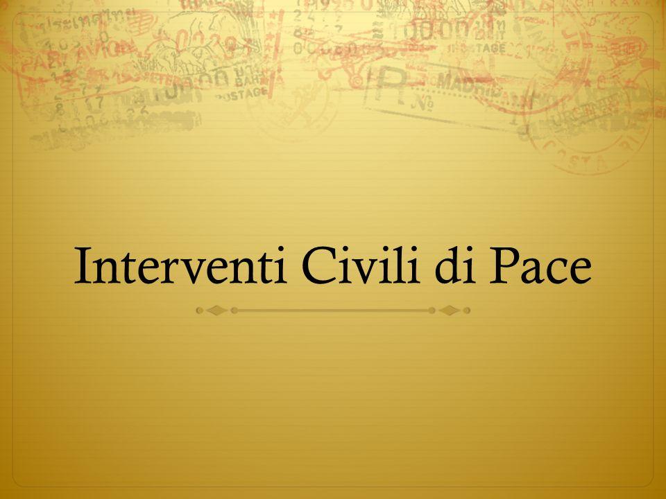 Interventi Civili di Pace
