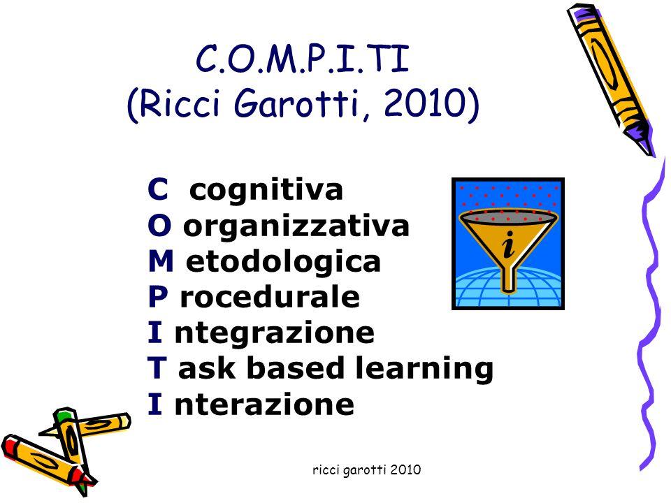 ricci garotti 2010 Quali sono le attività cognitive.