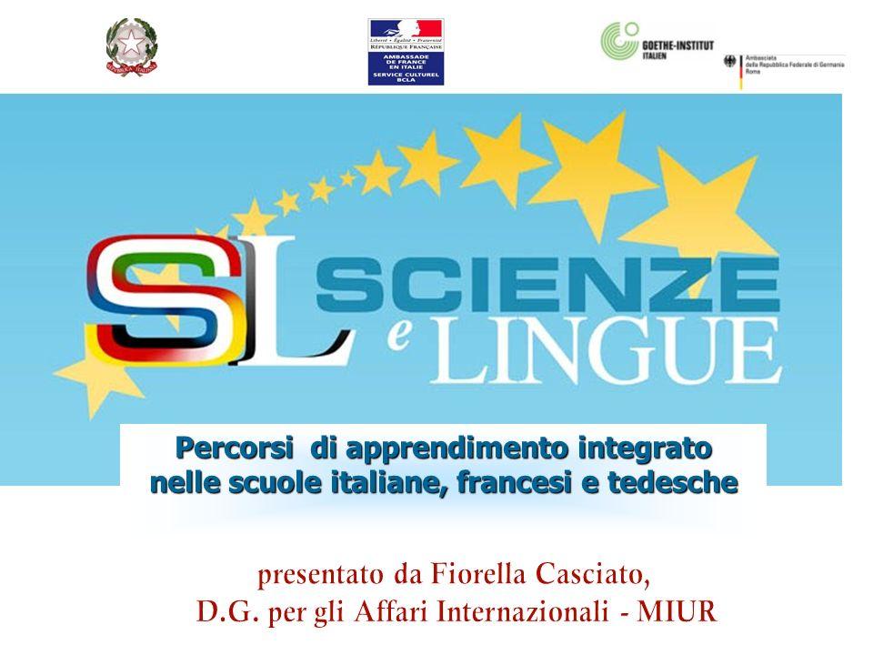 Percorsi di apprendimento integrato nelle scuole italiane, francesi e tedesche