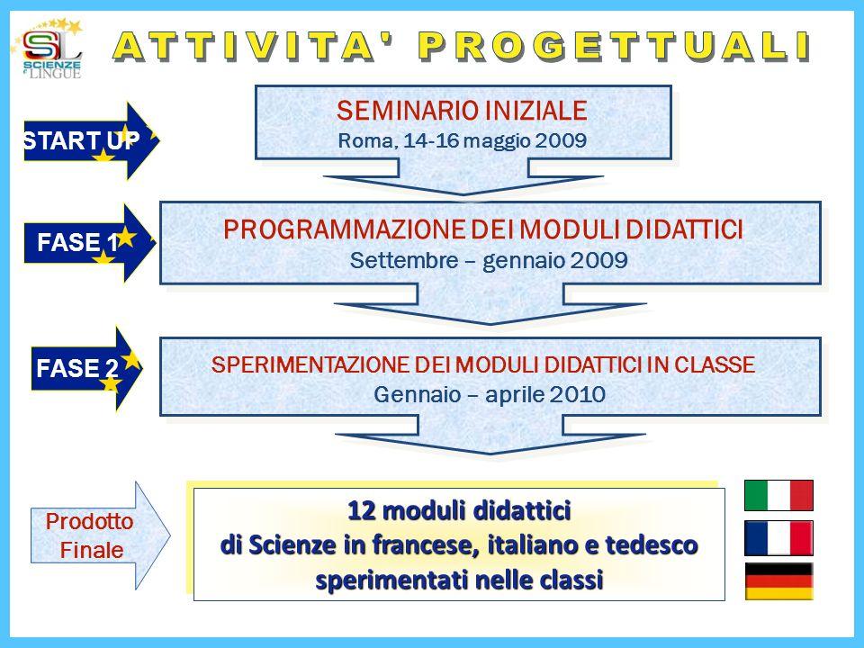 FASE 1 FASE 2 PROGRAMMAZIONE DEI MODULI DIDATTICI Settembre – gennaio 2009 PROGRAMMAZIONE DEI MODULI DIDATTICI Settembre – gennaio 2009 SPERIMENTAZION