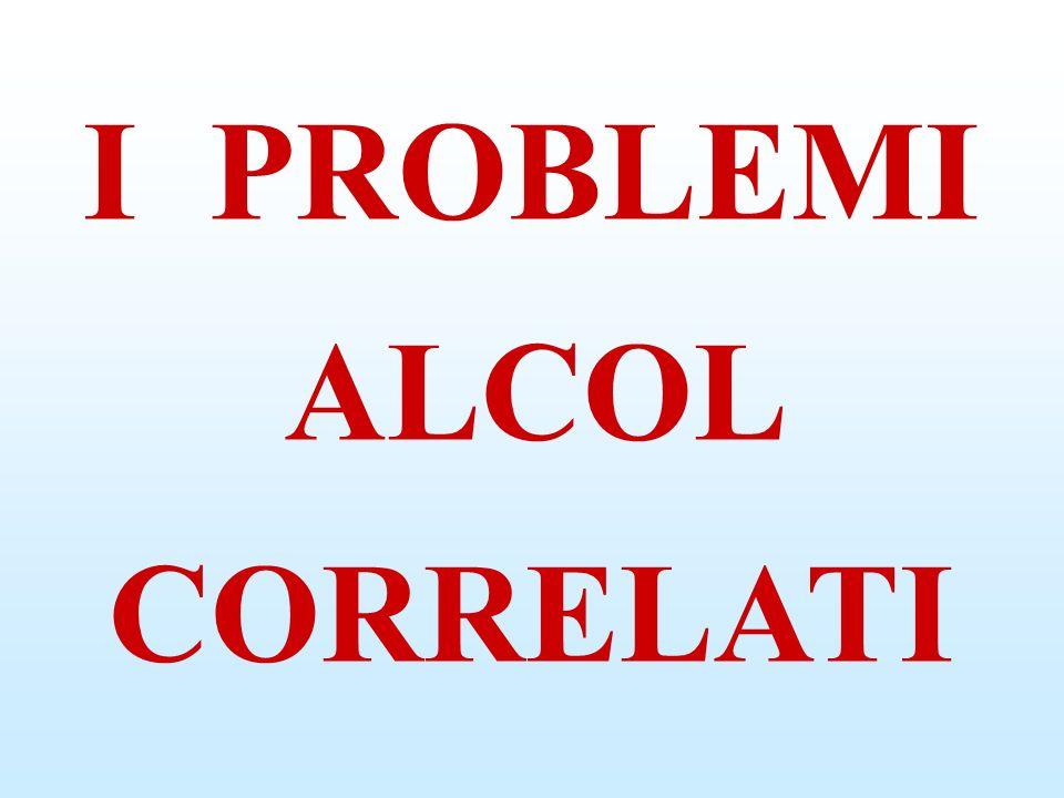 BERE è un COMPORTAMENTO a RISCHIO L ALCOL è il PIACERE di un MOMENTO poi COMINCIANO ad AFFIORARE i PROBLEMI poi DIVENTA il PADRONE della VITA NON ESISTE ALCOLISTA che NON sia STATO un BEVITORE MODERATO