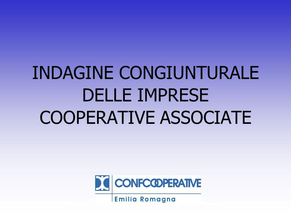 Indagine Congiunturale 2013 Confcooperative Emilia Romagna DIFFICOLTA RAPPORTI PA (BUROCRAZIA) Dimin.StabileAumentoTrend Fedagri 0,7%55,8%42,7% Federsolidarietà 0,0%53,2%45,3% Prod.